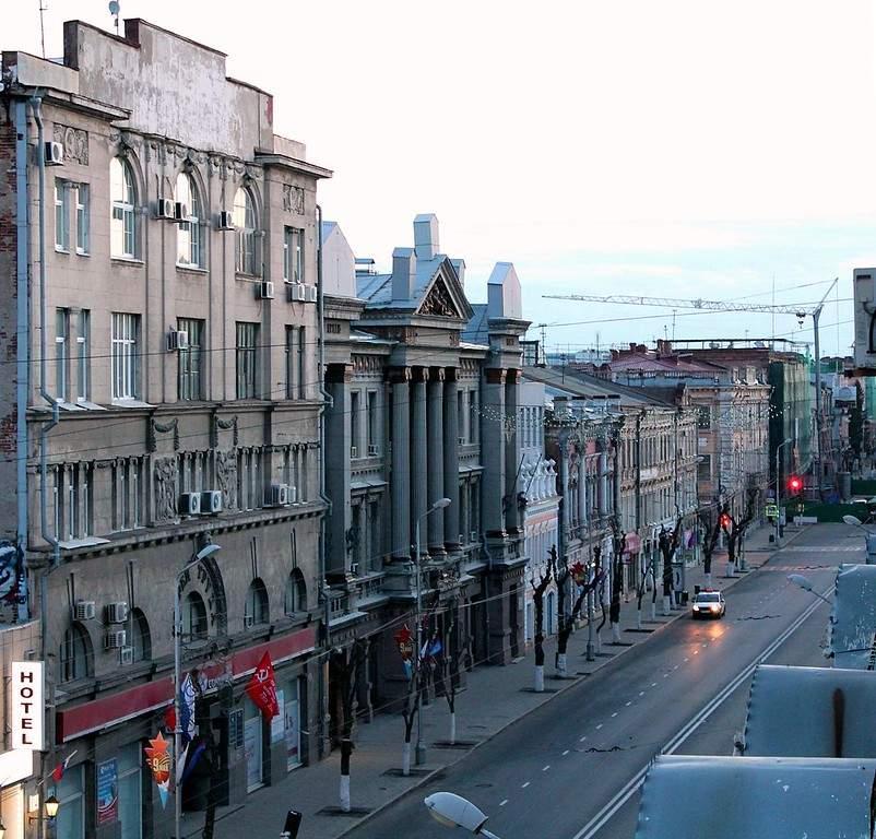 Calle típica en Samara