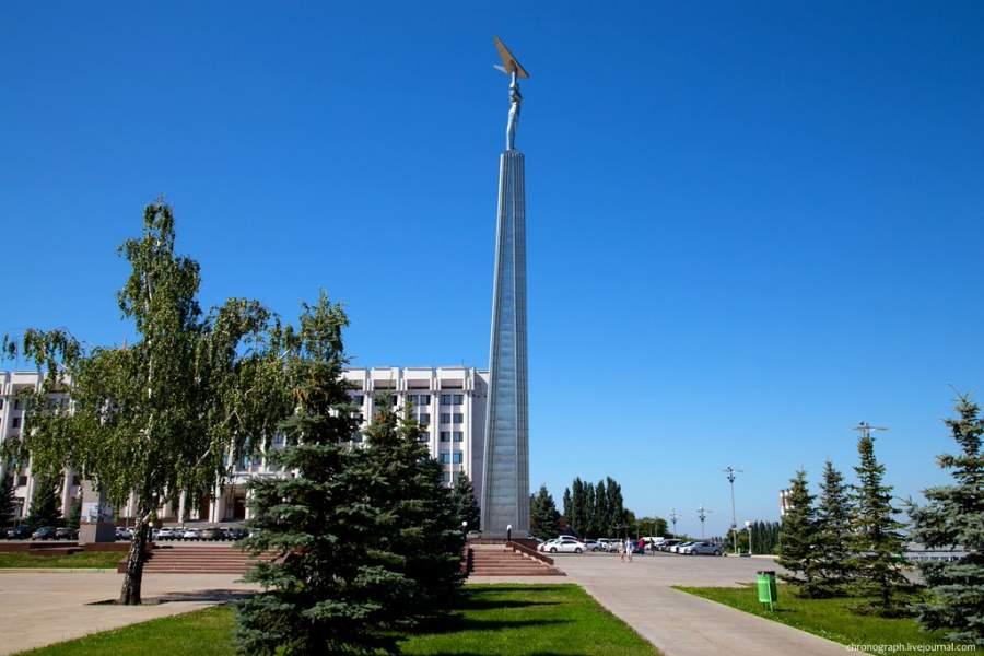 Visita la Plaza de la Fama en Samara