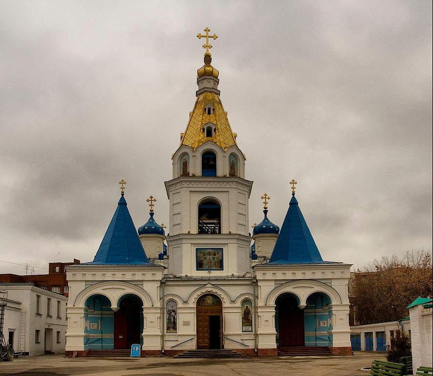 Admira la arquitectura de la ciudad de Samara