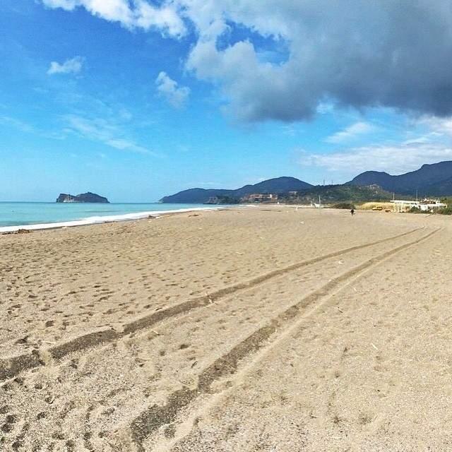Sarigerme Beach, famosa playa en la región de Dalaman
