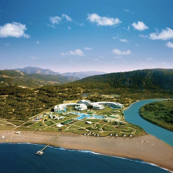 Vista aérea de la zona de Sarigerme Beach