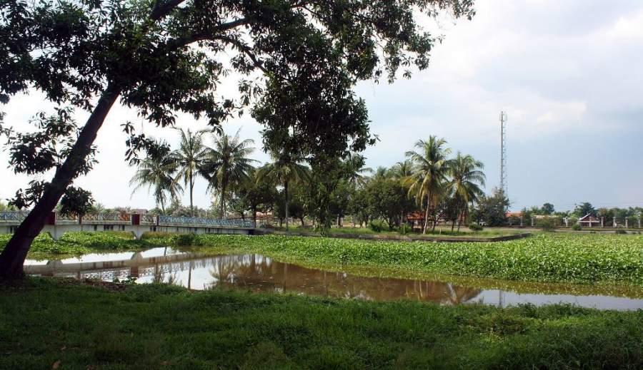 Pulau Cempaka, una isla artificial