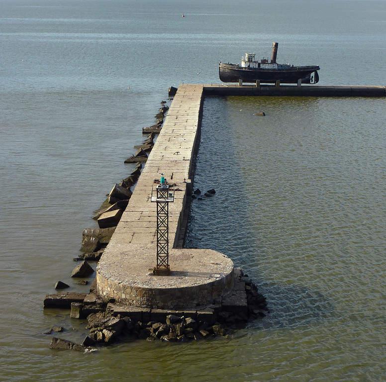 Entrada al puerto de Montevideo