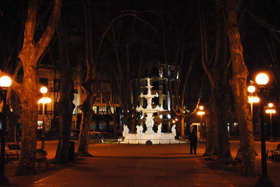 Plaza Matriz en Montevideo