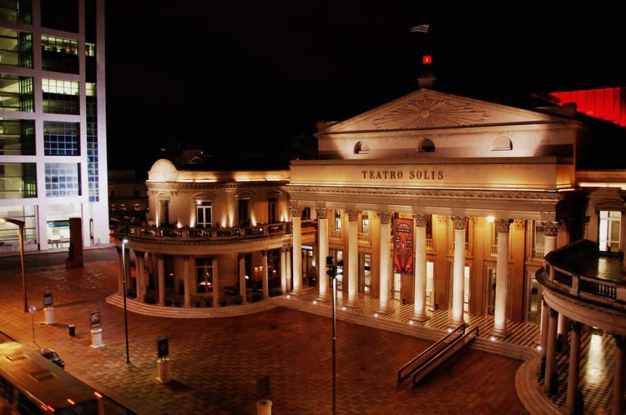 El Teatro Solís, un símbolo de la cultura uruguaya en Montevideo