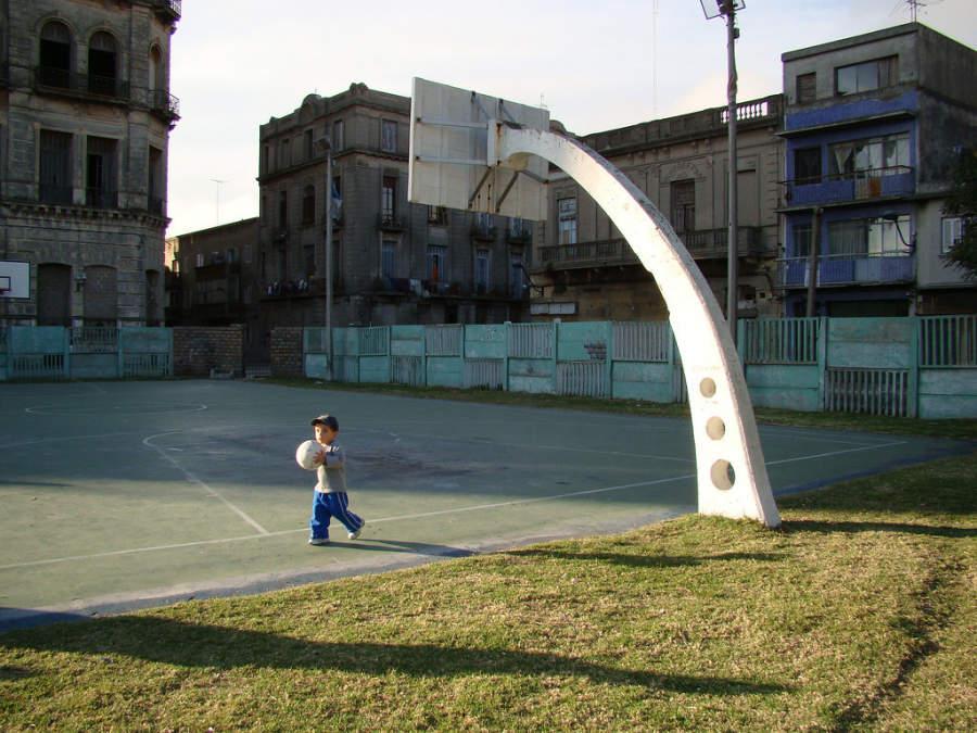 Zona Portuaria en Montevideo