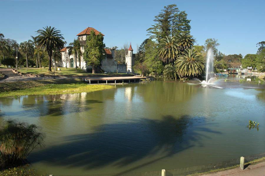 Parque Rodó en Montevideo, Uruguay