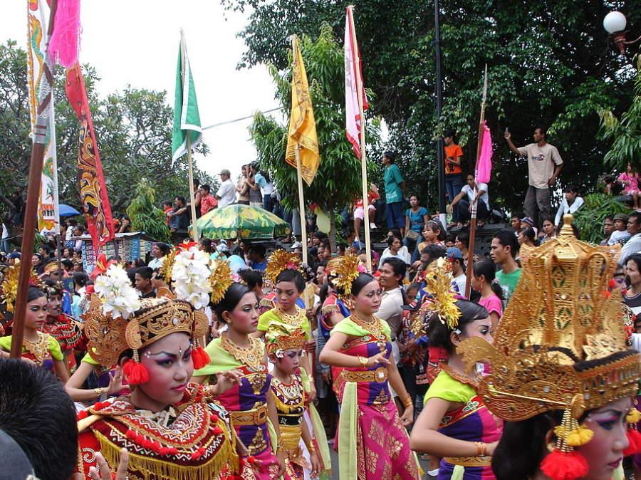 Festival en Singaraja