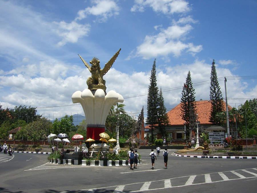 Monumento en Singaraja
