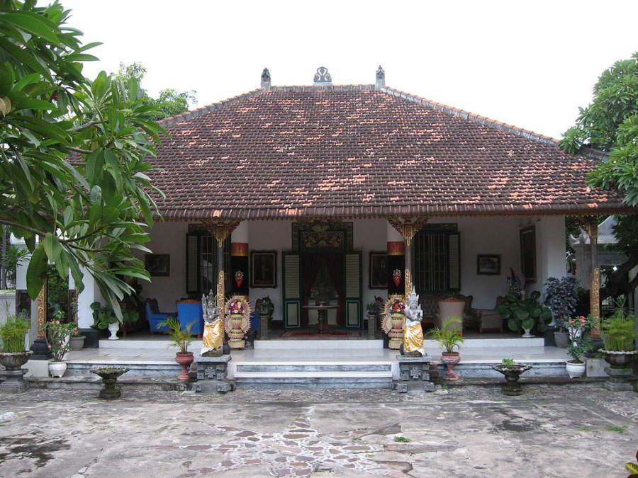 Un templo en Singaraja