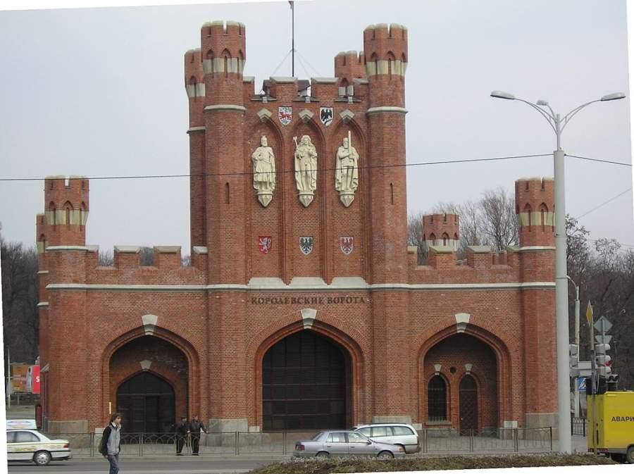 Puerta del Rey en Kaliningrado