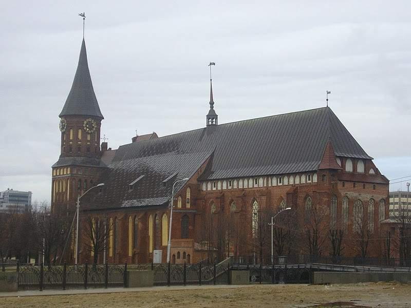 Catedral de Königsberg en Kaliningrado