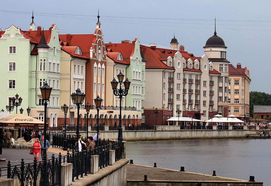 Conoce el centro histórico de Kaliningrado