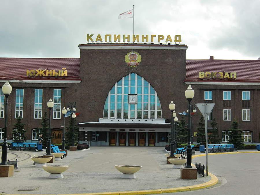 Estación de ferrocarril de Kaliningrado
