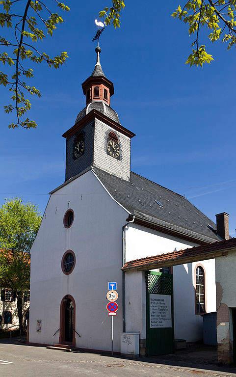 Iglesia luterana en Raunheim