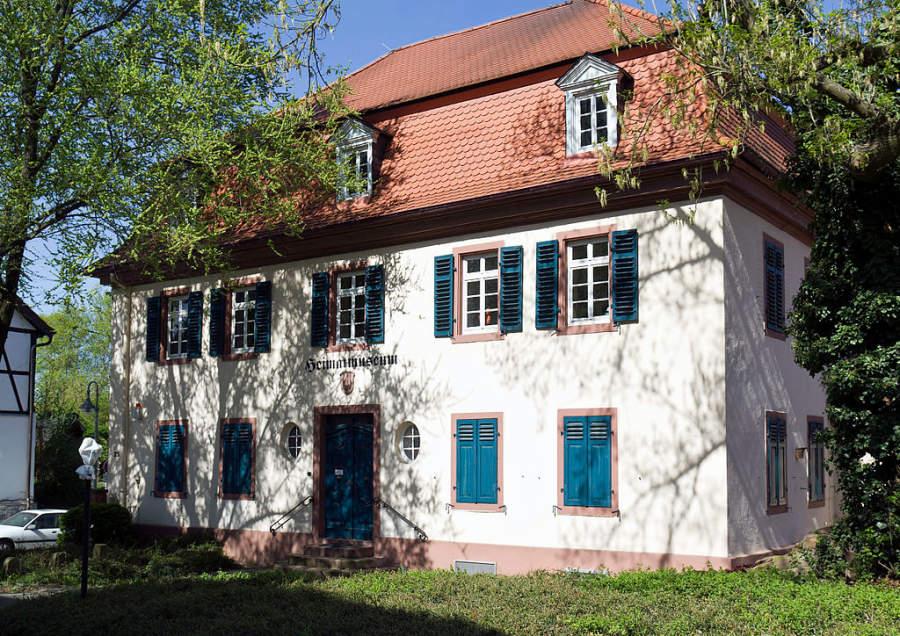 El museo histórico de Raunheim está en una antigua casa parroquial
