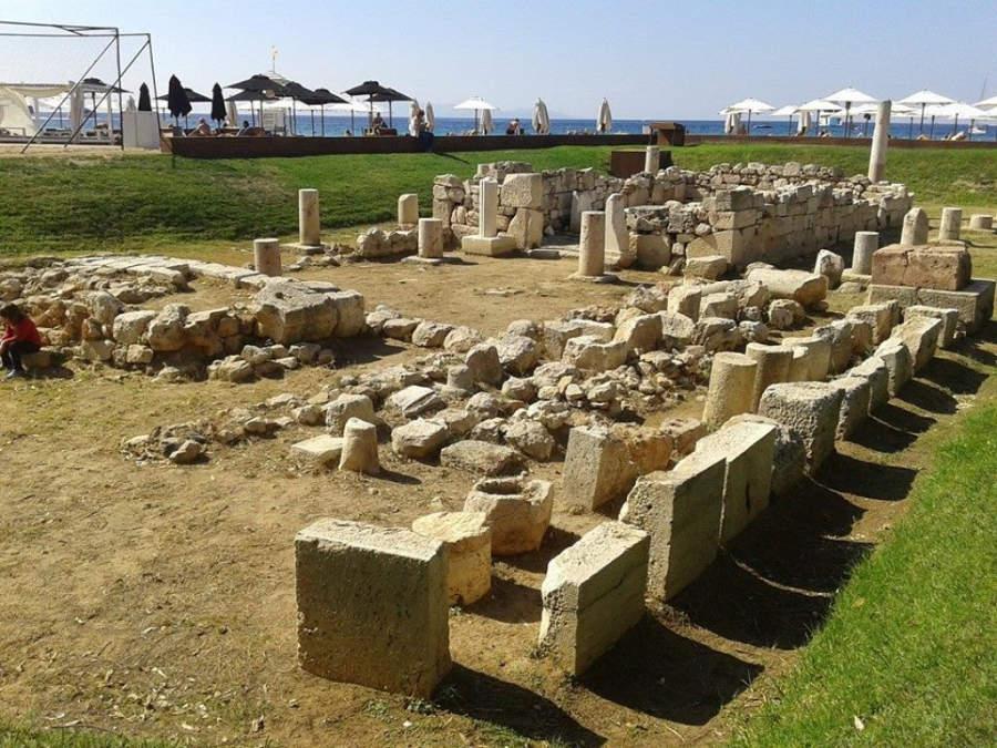 Columnas del Templo de Apolo Zoster