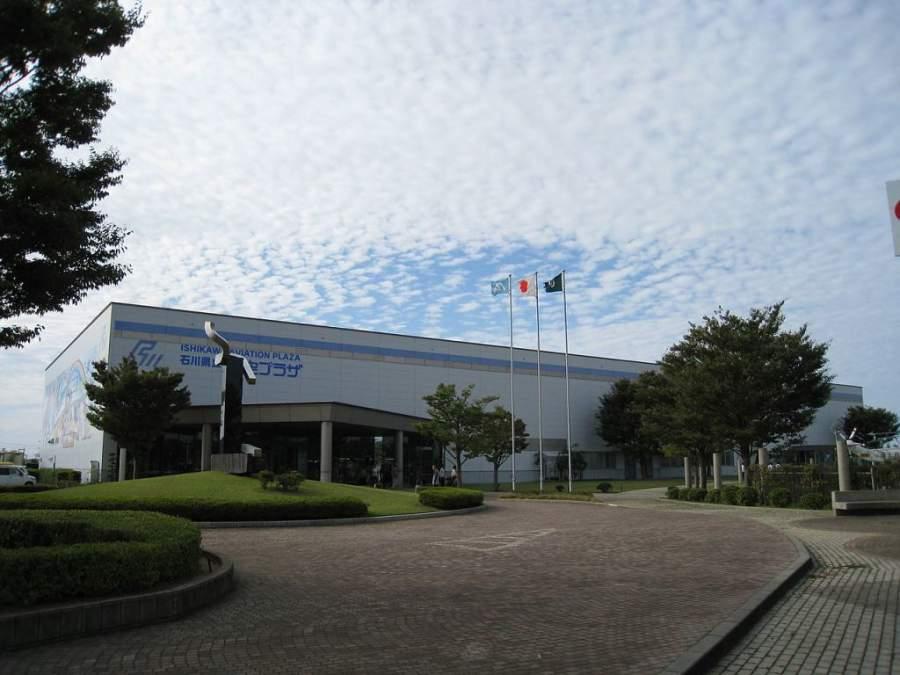 Vista de Ishikawa Aviation Plaza en Komatsu