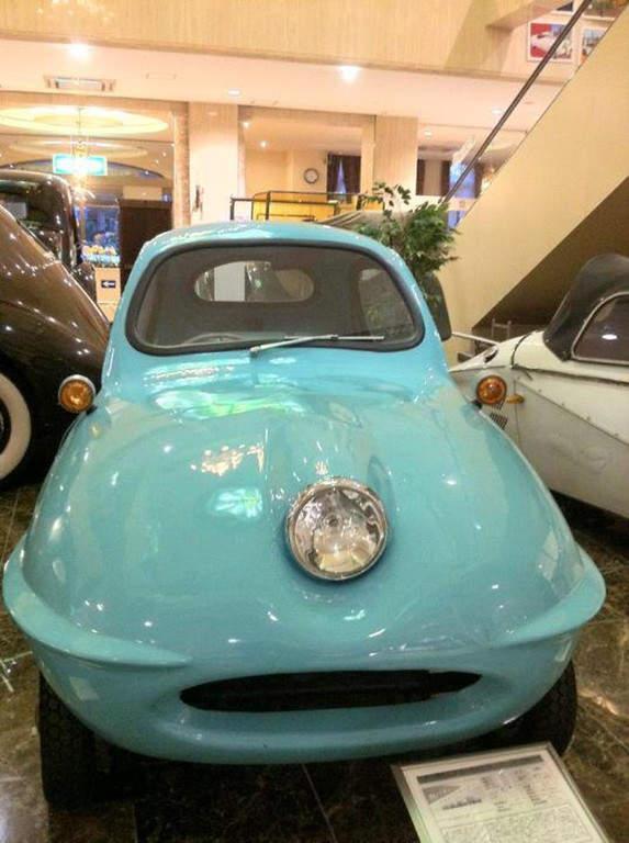 Vehículos en el museo Motercar