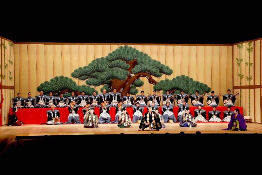 Kabuki en el Teatro Urara en Komatsu