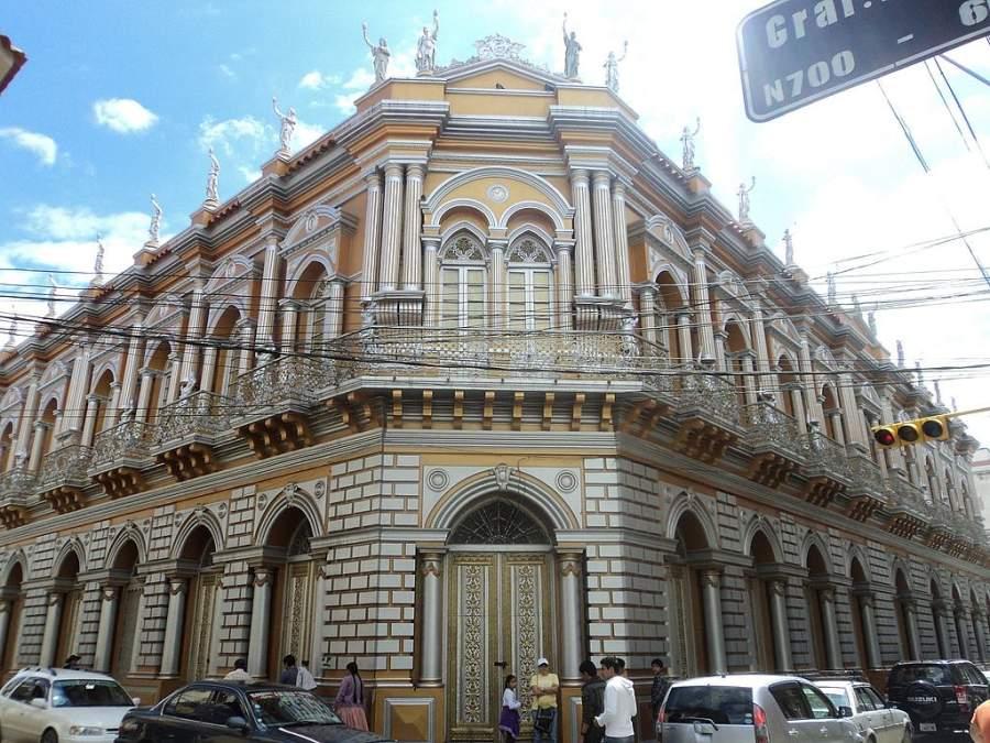 La Casa Dorada, actual Casa de la Cultura de Tarija