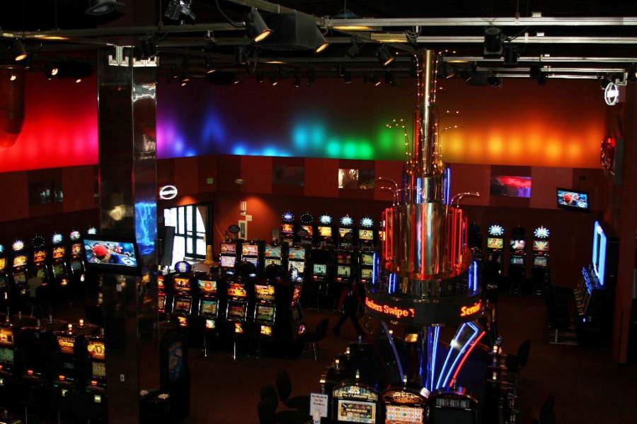 Máquinas tragamonedas en Wind River Casino