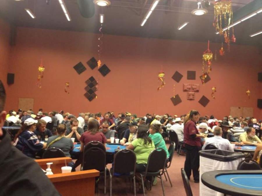 Mesas de juego en Wind River Casino