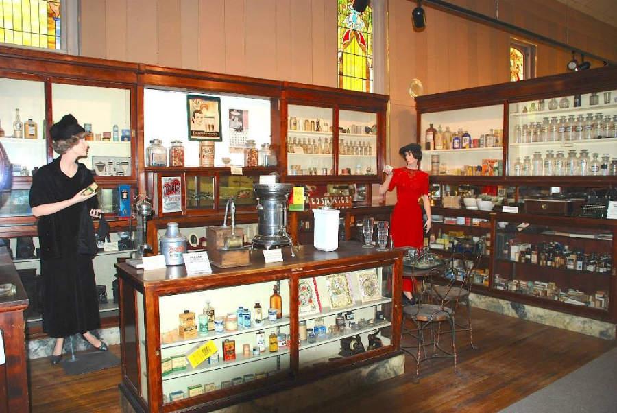 Interior del Museo de Riverton