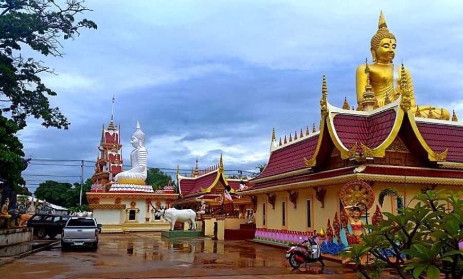 Templo Wat Matchimawat en las cercanías de la ciudad de Udon Thani