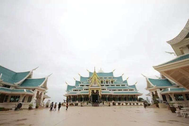 Templo Wat Pa Bat Tat en la provincia de Udon Thani