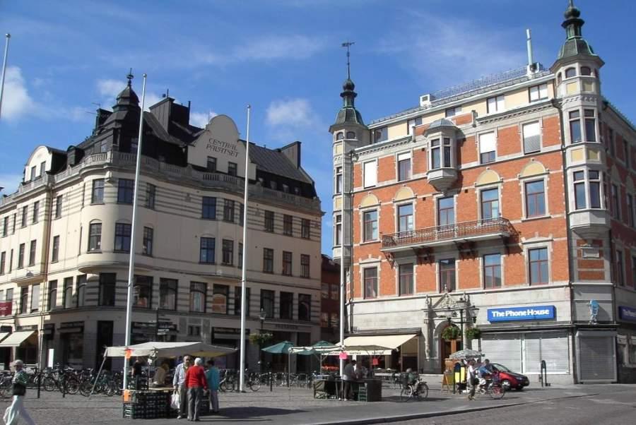 Edificios de la ciudad de Linköping