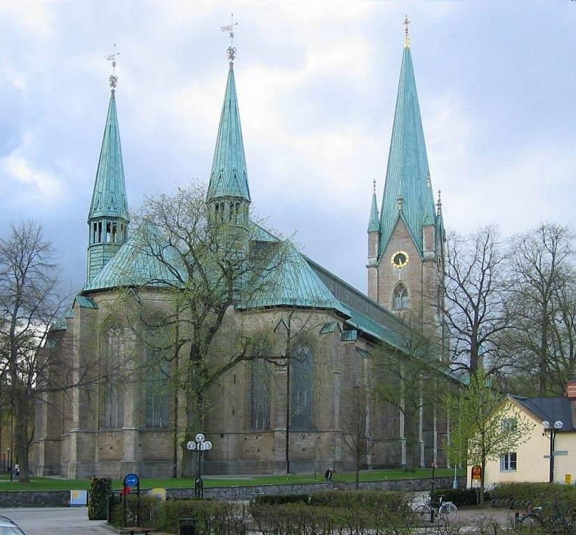 La Catedral de Linköping cuenta con numerosos tesoros artísticos