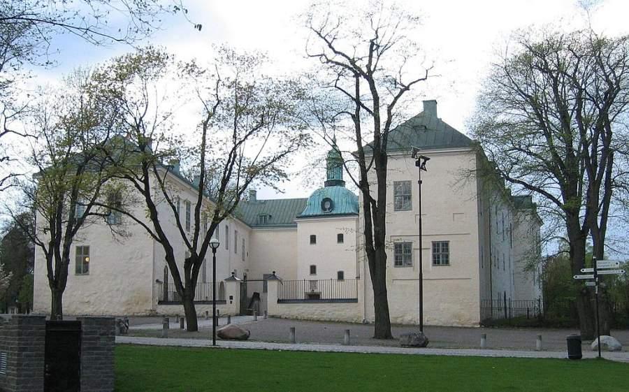 Castillo de Linköpings, actual residencia del gobernador del condado de Östergötland