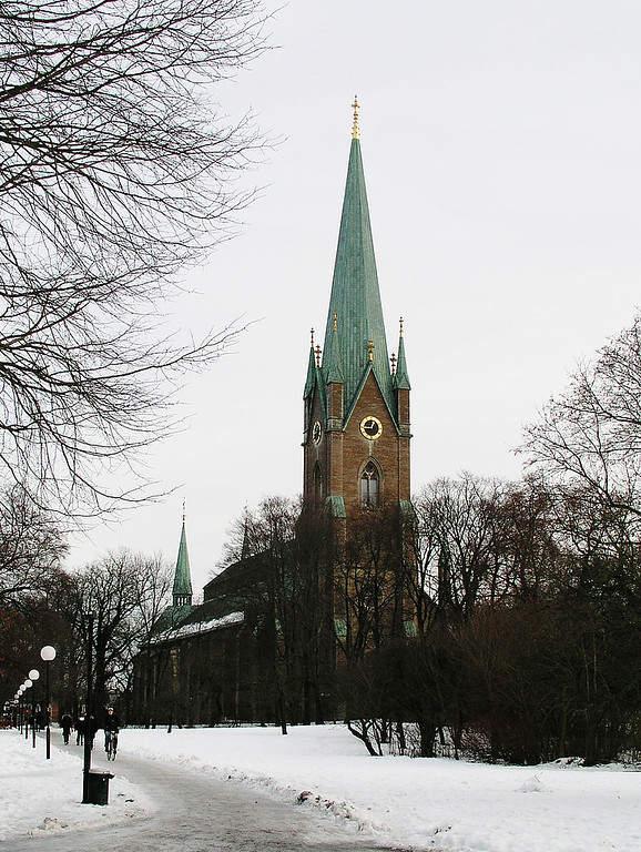 Catedral de Linkoping de estilo gótico
