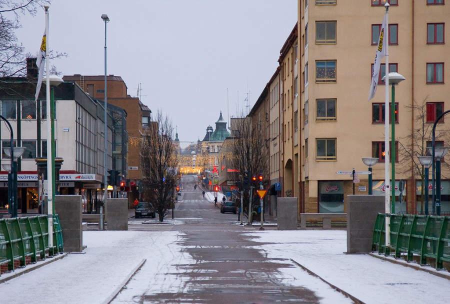 Linköping es una ciudad al sur de Suecia