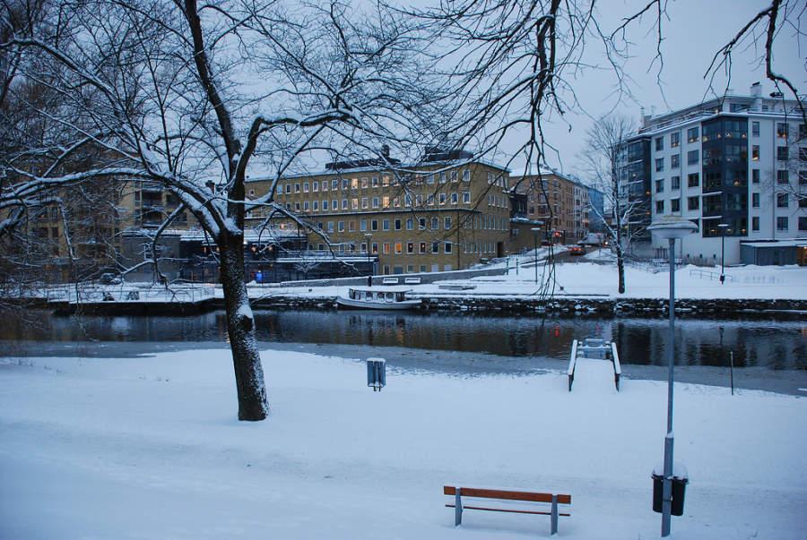 Linköping nevado