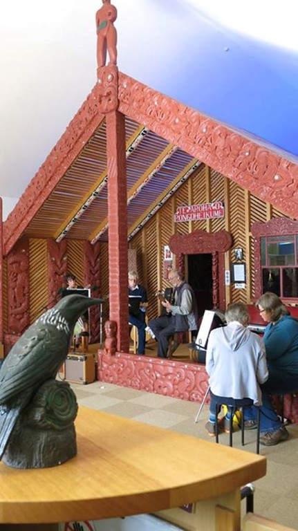 Evento en el Museo de Taupo