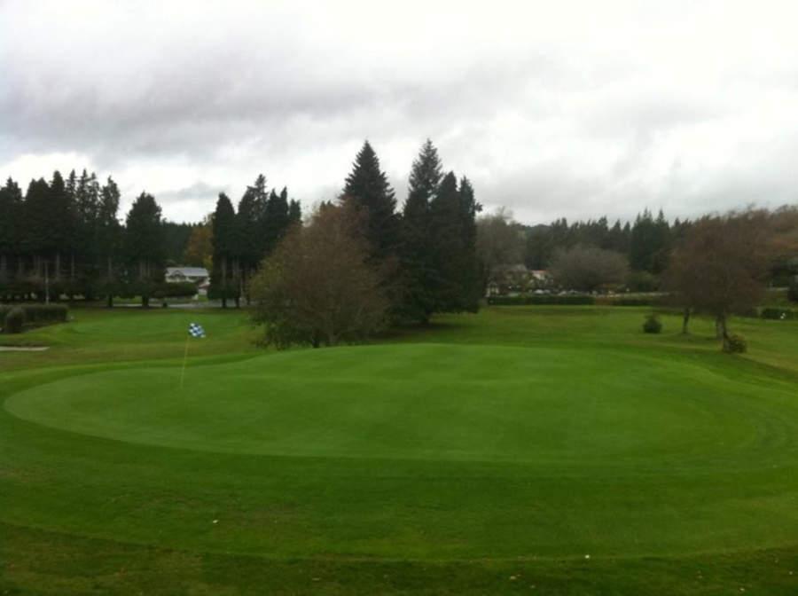 En Taupo y los alrededores hay varios campos de golf