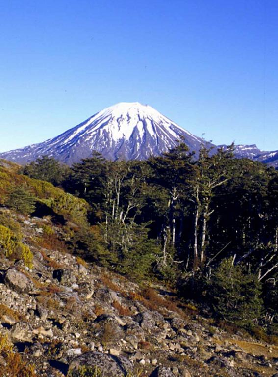 El Parque Nacional Tongariro es ideal para practicar actividades al aire libre