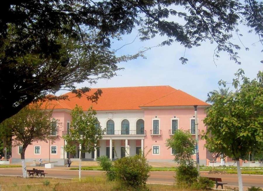 Palacio Presidencial en Bisáu