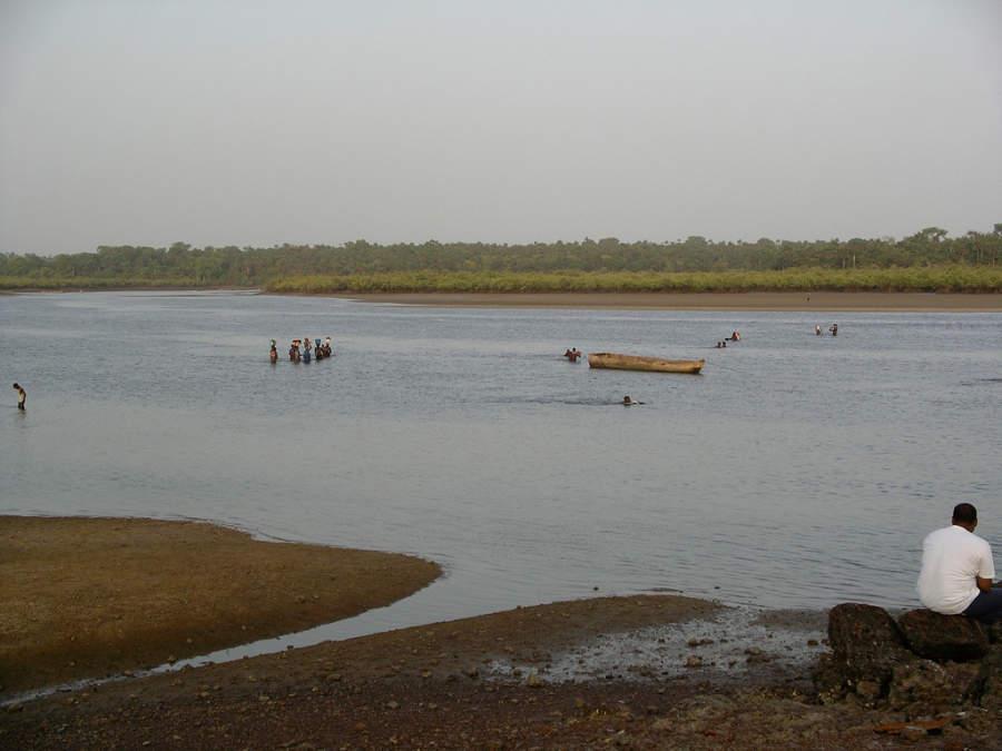 Visita el área del río Geba en Bisáu