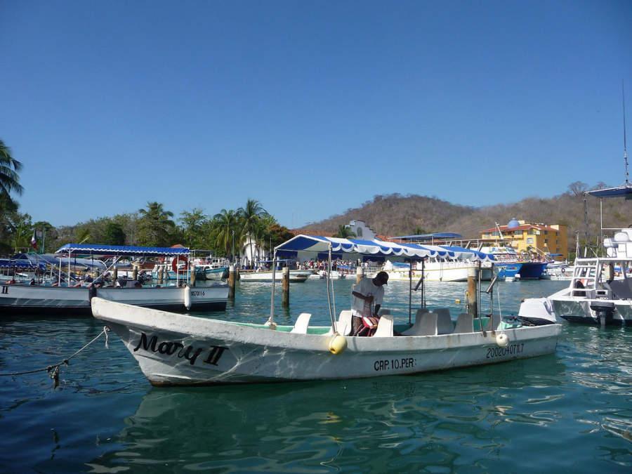 La pesca es una de las principales actividades económicas de Huatulco