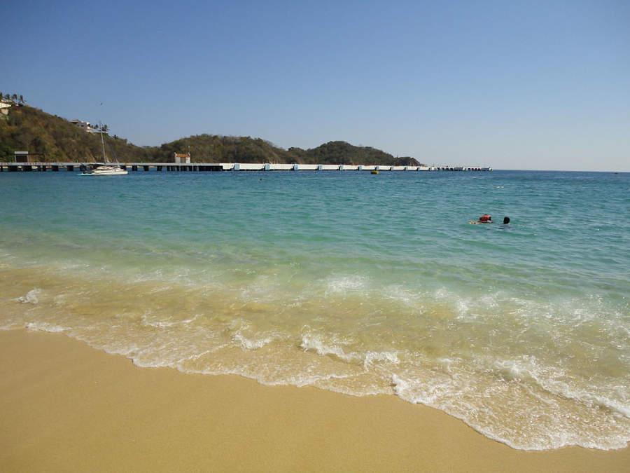 Playa Santa Cruz en Huatulco