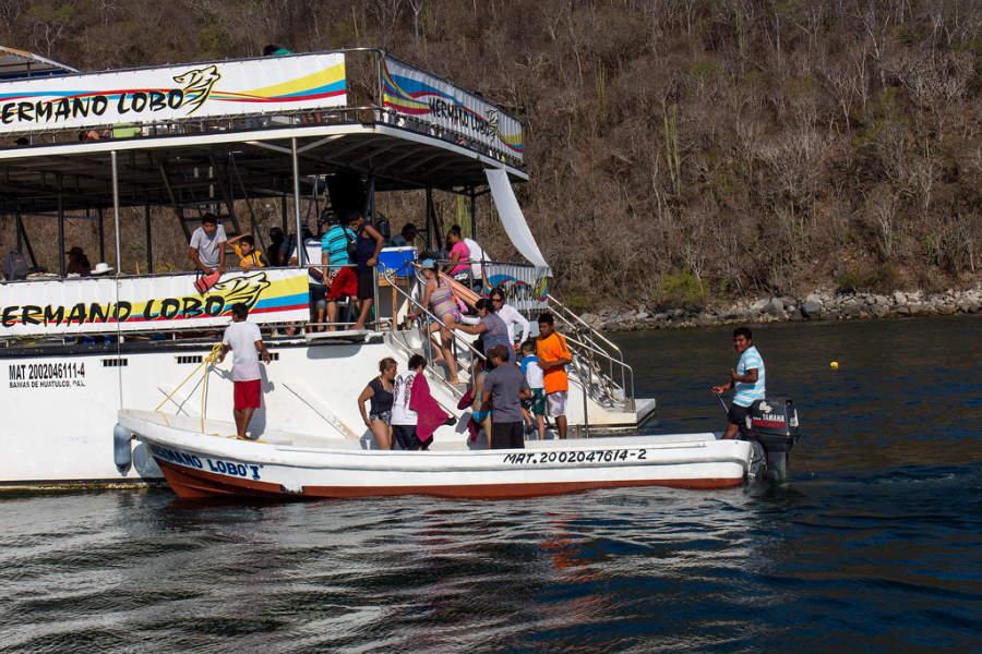 Paseo en barco por las nueve bahías de Huatulco