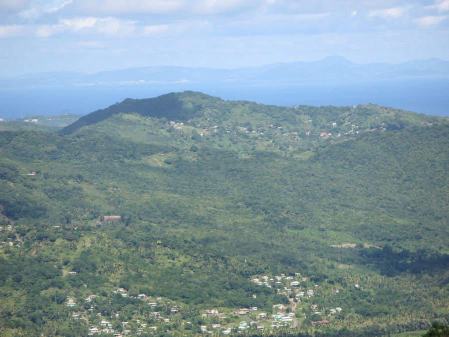 Geografía de Castries, Saint Lucia