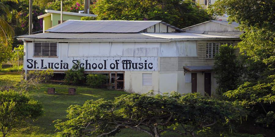 Escuela de música en Saint Lucia