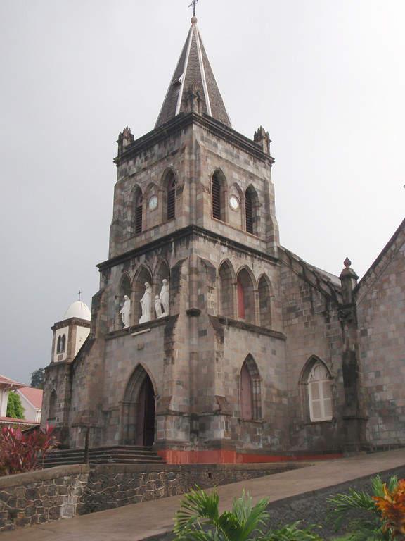 Catedral católica de Roseau