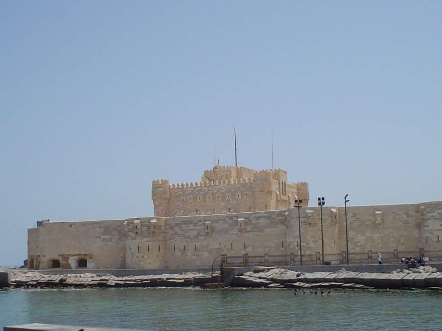 Fortaleza de Quaitbay, antigua ubicación del Faro de Alejandría