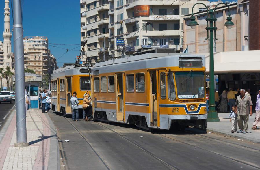 Transporte urbano de Alejandría