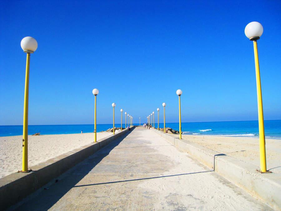 Playa en Alejandría